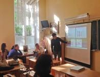 Состоялись защиты курсовых работ учеников 10 класса...